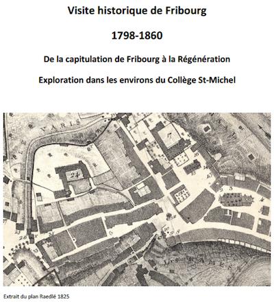 Decouvrez Les Dossiers De Visites La Ville Fribourg Partant Des 3 Colleges Chaque Dossier Propose Activites En Geographie Mais